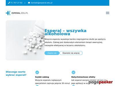 Esperal Wrocław - Detoksykacja Wrocław - Wszywki Wrocław