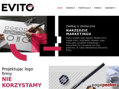 Evito to skuteczny projekt logo