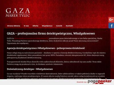 Gaza - prywatny detektyw Władysławowo