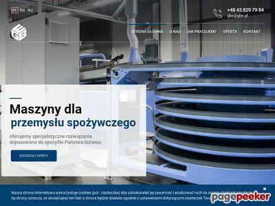 Producent Maszyn dla Przemysłu Spożywczego GBE