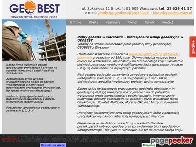 Geobest Sp. z o.o. - usługi kartograficzne