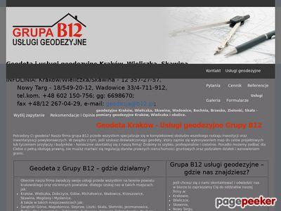 Www.geodetapomiary.pl - sporządzanie map geodezyjnych