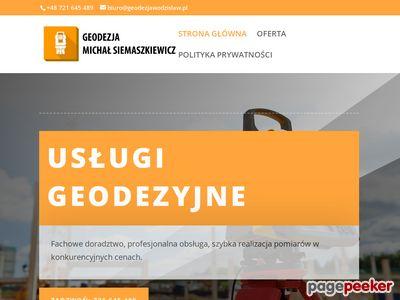 Geodeta w Wodzisławiu Śląskim