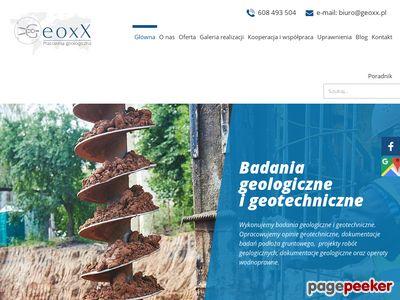 Geoxx - pracownia geologiczna Olsztyn