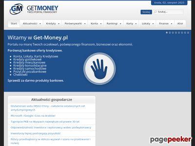 Internetowe Centrum Szybkich Pożyczek Get-Money.pl