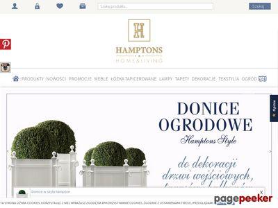 Krzesło z kołatką - hamptons.pl