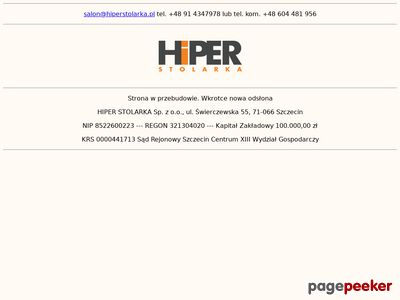 Hiper Stolarka - deska barlinecka Szczecin