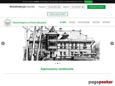 Hotelkasprowy.com