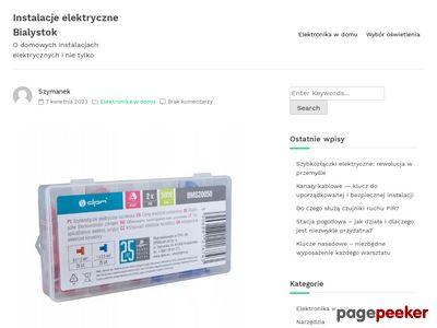 Kontakt - domofony Białystok