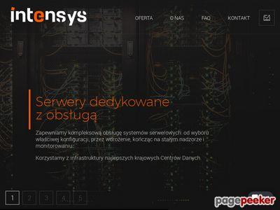 Intensys.pl - strony internetowe