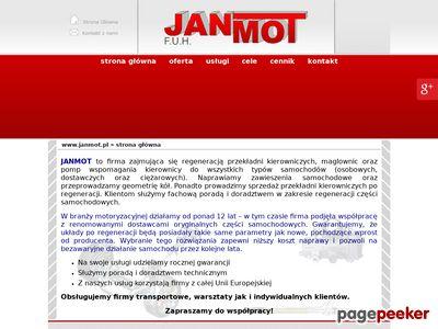 Janmot - diagnostyka układu kierowniczego