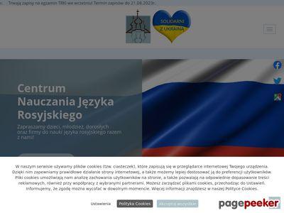 Centrum nauczania języka rosyjskiego - rosyjski dla firm w Warszawie