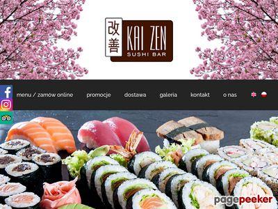 Kaizen S.C. - dostawa sushi do Konstancina