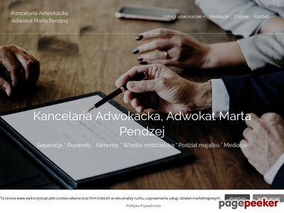 Marta Pendzej Kancelaria Adwokacka adwokat
