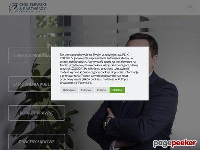 Kancelaria Radcy Prawnego Leszek Chmielewski