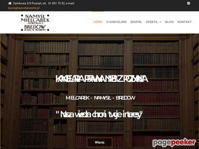 Mielcarek Namysł Kancelaria Adwokacka s.c. (Dobry prawnik w Poznaniu)