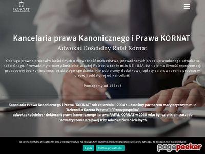 """Kancelaria Prawa Kanonicznego i Prawa """"KORNAT"""""""
