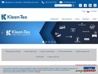 Kleen-Tex - wycieraczka wejściowa