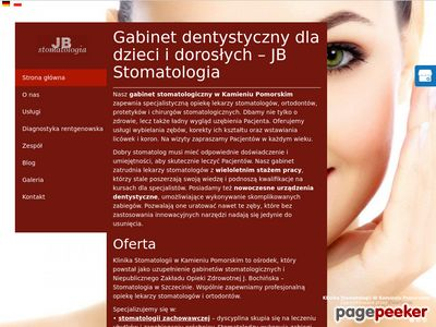 Klinika Bochinska - ortodonta Kamień Pomorski