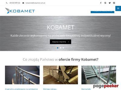 Balustrady poznań - KOBAMET