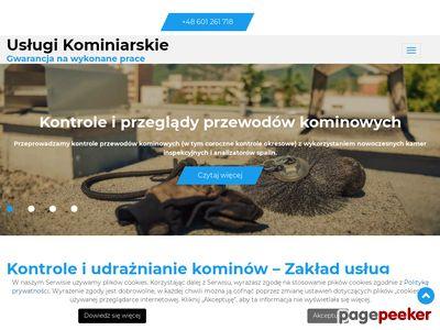Konrad Małmyga - czyszczenie przewodów kominowych w Warszawie