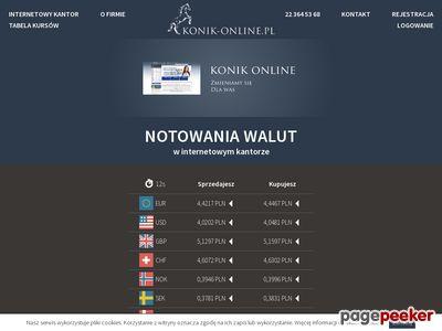 Kantor wymiany walut online