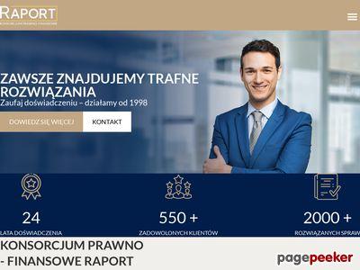 Konsorcjum Raport - usługi prawno-finansowe