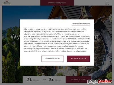 Wesela Zakopane - www.kraina-smaku.com.pl