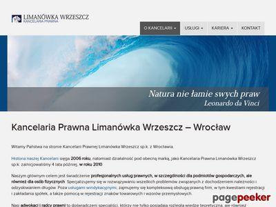 Kancelaria Prawna i Windykacyjna Limanówka Wrzeszcz sp.k.