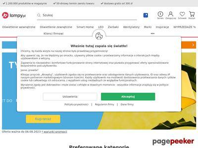 Lampy.pl - sklep z oświetleniem