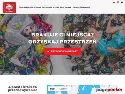 Mały magazyn do wynajęcia www.lessmess-storage.pl