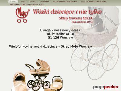 Wózki wielofunkcyjne dziecięce we Wrocławiu
