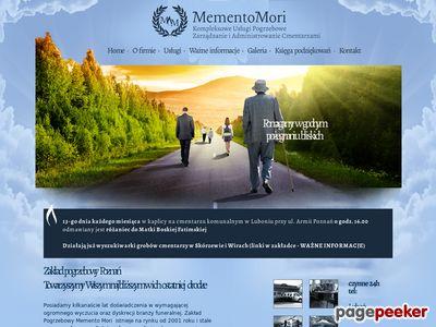 Usługi pogrzebowe Poznań - mementomori.com.pl