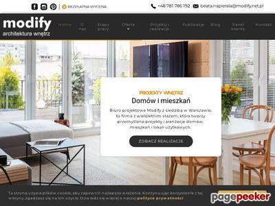 Modify - architektura wnętrz w Warszawie
