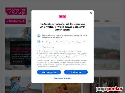 Twój modowy blog - modoweinspiracje.pl