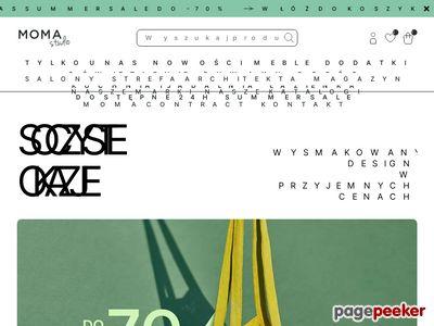 Moma Studio - krzesła tapicerowane