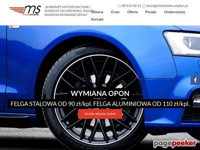 Motostrefa Roman Wyleciał - opony