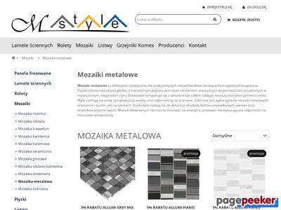 Mozaiki metalowe