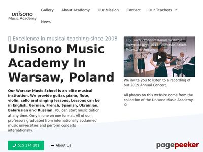 Musicacademy.pl - violin lessons Warsaw