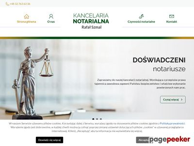 Rafał Szmal - dobry notariusz Czeladź
