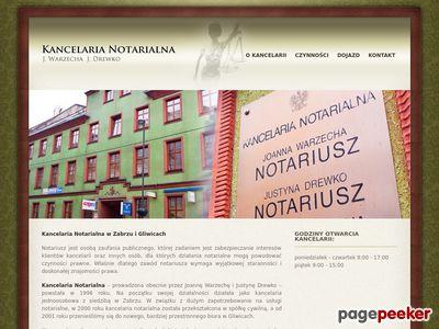 Notariusz Drewko J. - kancelarie notarialne w Gliwicach