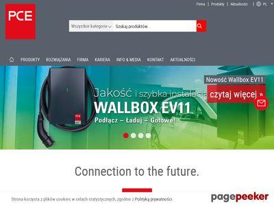 PCE Polska - rozdzielnice przenośne, producent
