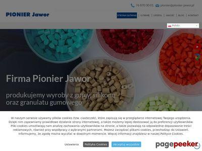 PIONIER JAWOR uszczelki gumowe produkcja