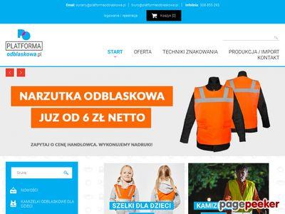 Platformaodblaskowa.pl - tanie odblaski dla dzieci i dorosłych