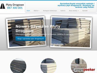 Płyty Drogowe - kupno i sprzedaż
