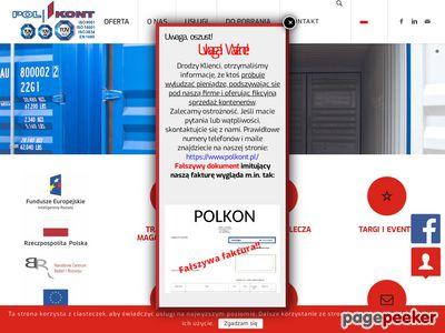 Polkont - wynajem kontenerów chłodniczych