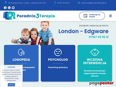 Wspomaganie rozwoju dziecka Londyn - poradnia3terapie.pl
