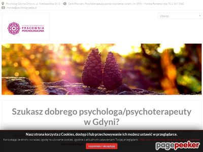 Psychoterapeuta Monika Romanowska - Gdynia, Sopot i Gdańsk