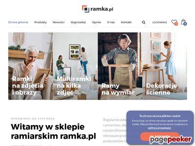 Ramki na zdjęcia o obrazy — Ramka.pl