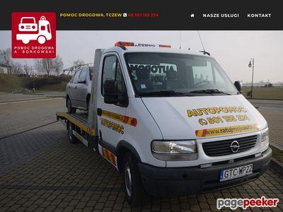 Pomoc Drogowa. A.Borkowski - Tczew